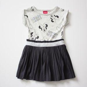Disney Minnie Mouse Gray Dress Sz 3T